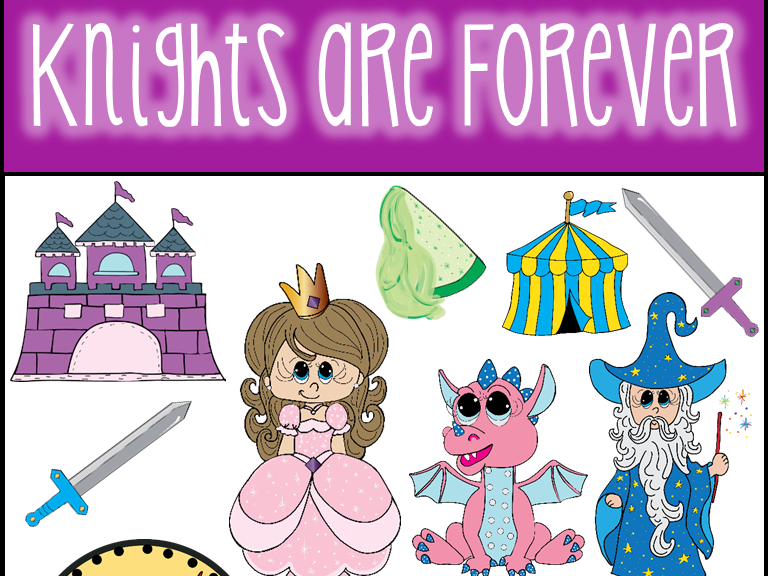 Knights Are Forever Clip Art