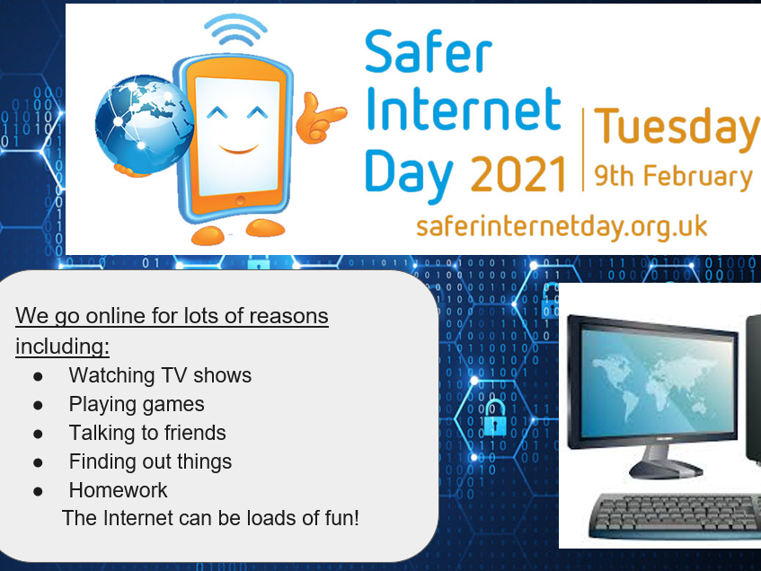 Online Safety PowerPoint with activities