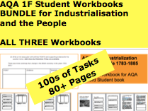 AQA 1F Student Workbook Bundle! 100+ Pages and 100s of Tasks