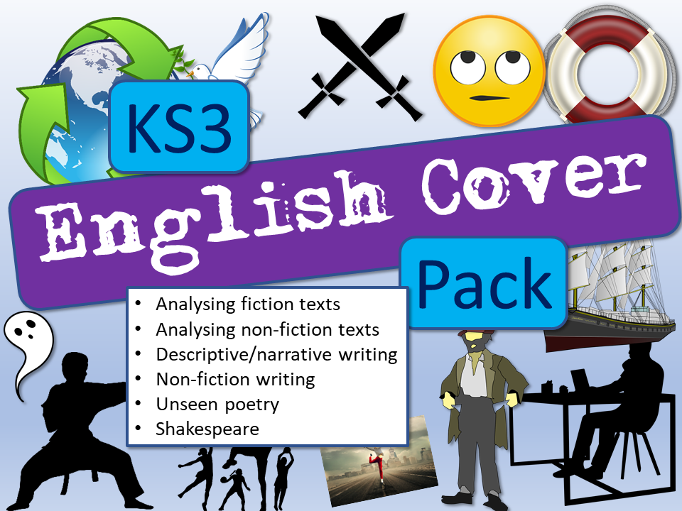 English Cover KS3