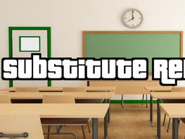 Substitute Report (Editable in Google Docs)