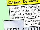 Ethnicity and Religion / Religiosity