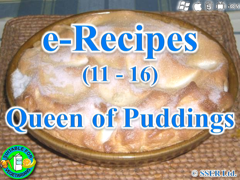 49.   Queen Of Puddings (e-Recipe)