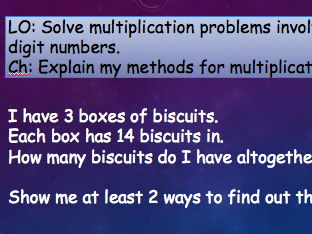 Multiplication revision PPT