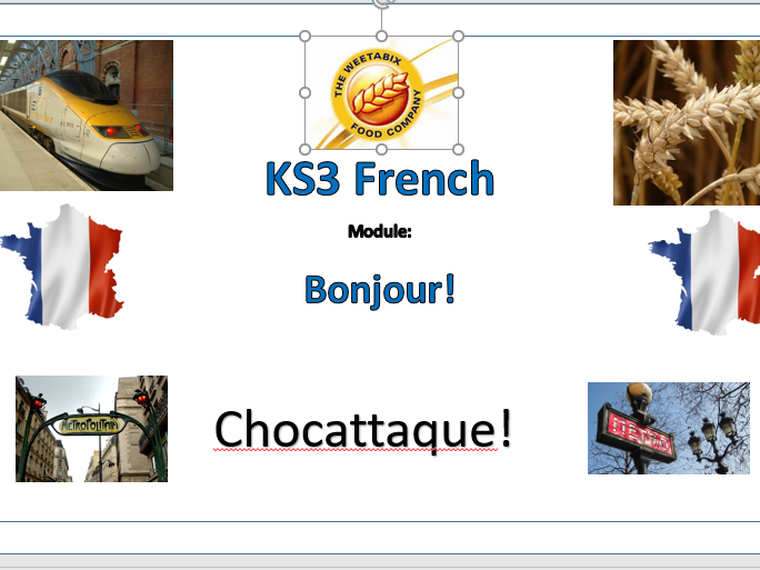 Chocattaque -Introduction to French (2 terms) Part two - Y7