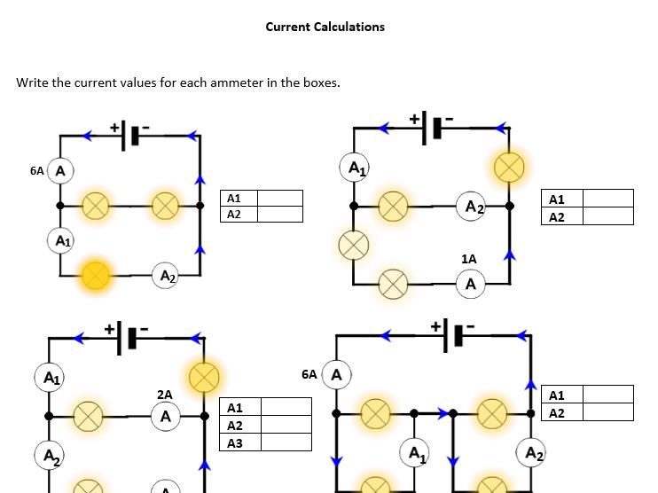 Current Calculations