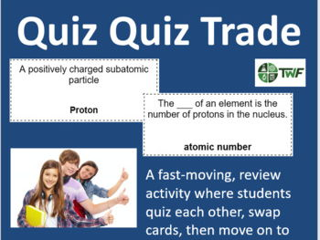 Chemistry: Atoms, Elements, and Compounds - Quiz Quiz Trade