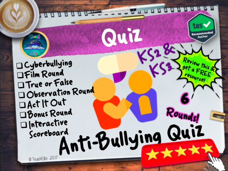 Anti-Bullying: Anti-Bullying Week Quiz