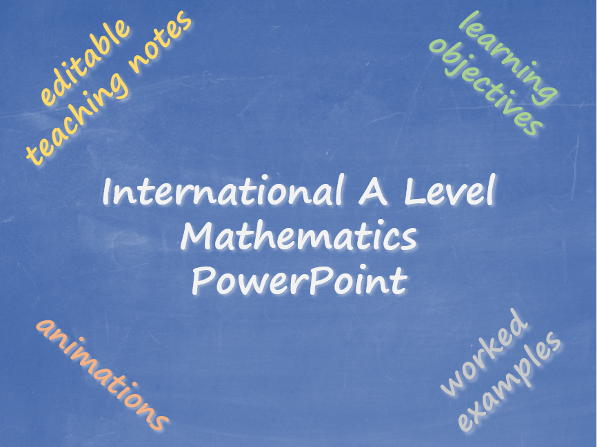 Further Pure Mathematics 2 PowerPoint Pack