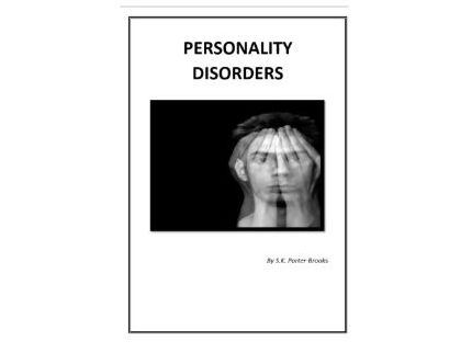 Personality Disorder Booklet/ Learning Resource (Health and Social Care)