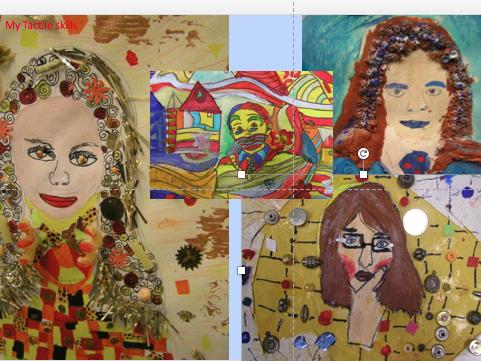 Diagnostic: yr 7 project on Styles, interpret 4 different artists. Gogh, Klimt, Hundertwasser, Ofili