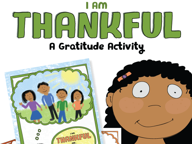 I am Thankful – A Gratitude Activity