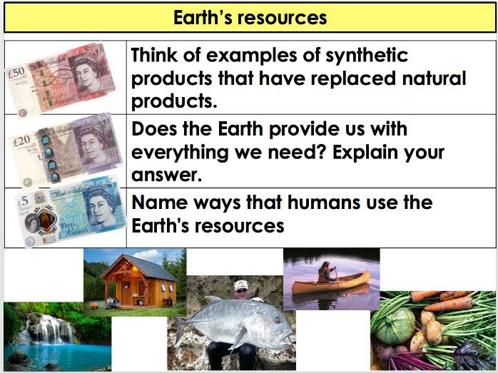 AQA - Chemistry/ Trilogy - 4.10 Using Resources - Earth's resources and sustainable development