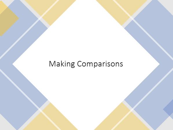 Making Comparisons (Similes and Metaphors) TEFL