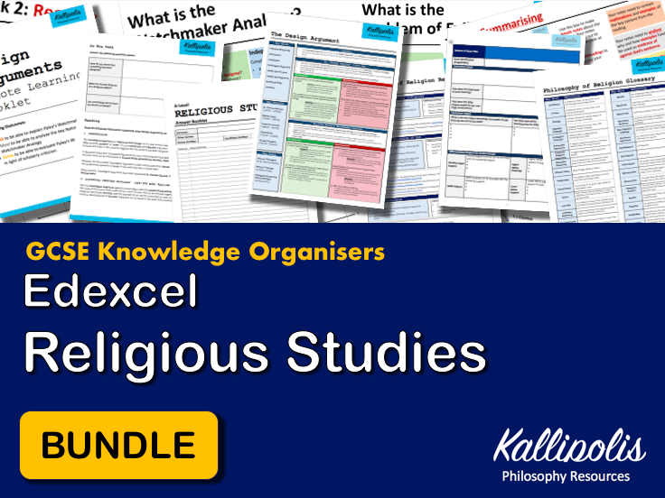 GCSE Edexcel Religious Studies Knowledge Organisers - Revision Pack