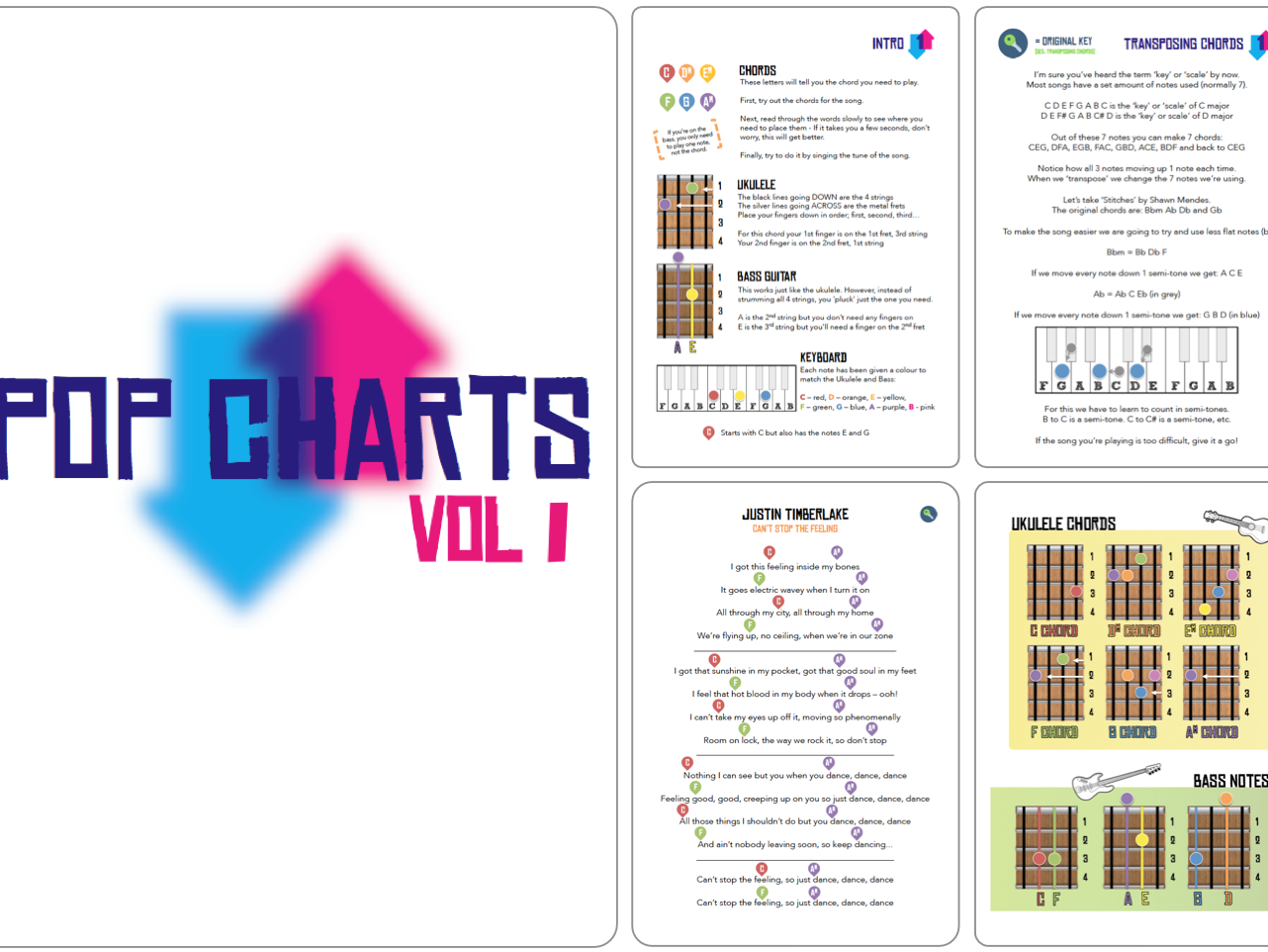 Musical Futures | Pop Charts [BUNDLE 1-3]
