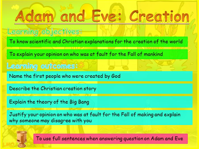 Abrahamic Religious Key Figures: Adam and Eve