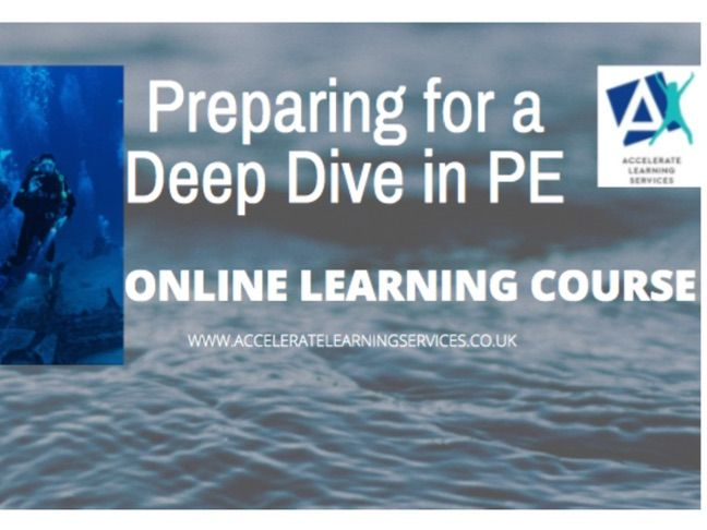 Preparing for a deep dive online learning course