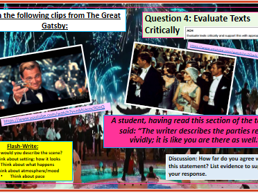 English Language Paper 1: Section A New GCSE [AQA]