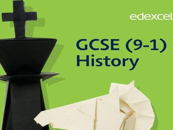 Edexcel GCSE 9-1 History feedback sheet