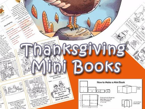 Thanksgiving Mini Books