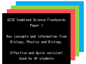 GCSE Combined Science Flashcards