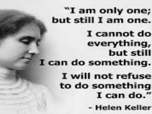 Helen Keller Heroes Assembly