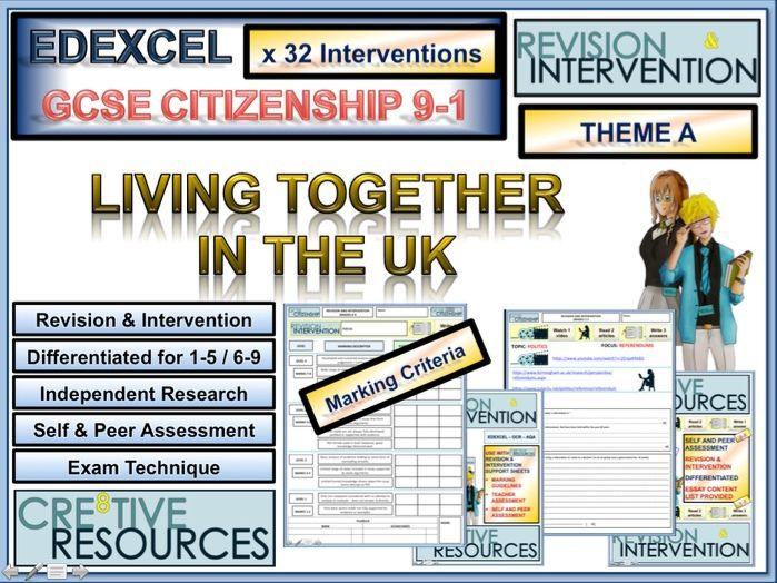 GCSE Citizenship Revision 9-1 EDEXCEL: Theme A
