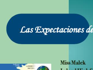 Classroom Expectations Presentation