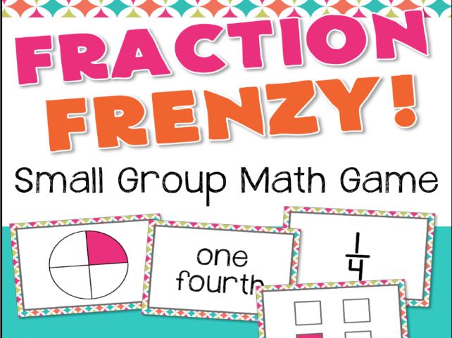 Fractions Game - Fraction Frenzy