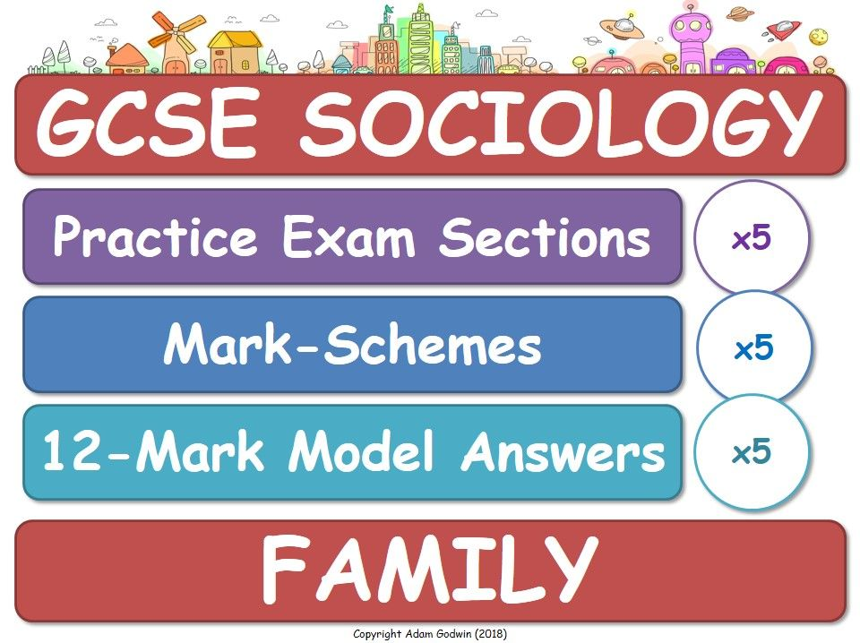 Family (GCSE Sociology - Exam Practice, Assessment, Mark-Schemes & Model Answers) AQA