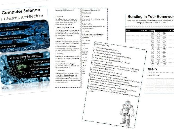 1. KS4 Computer Science Homework OCR