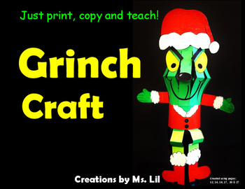 Grinch :: Grinch Activities :: Grinch Crafts :: Grinch Lantern :: Grinch Day