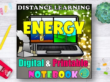 Energy Work and Simple Machines Distance Learning Curriculum