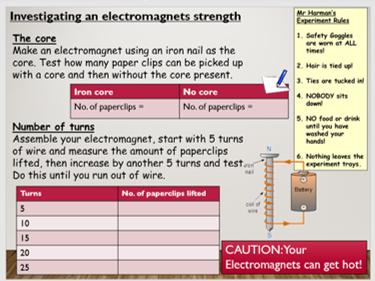 KS3 Electromagnets