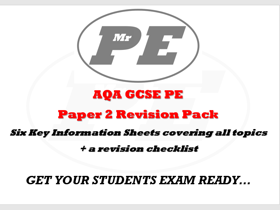 REVISION PACK Paper 2