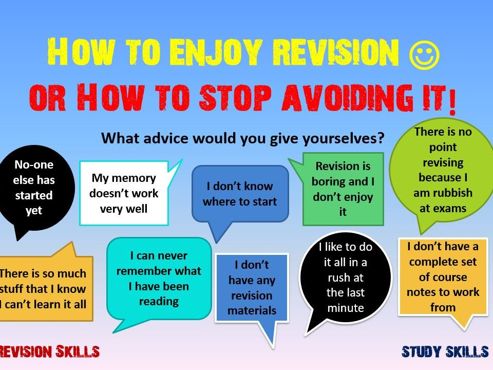 Revision Study Skills 1
