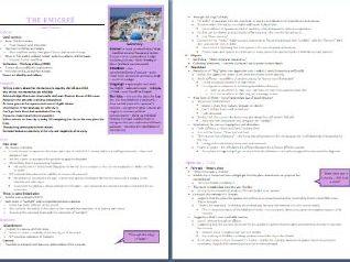 Grade 9 The Emigree Study Guide