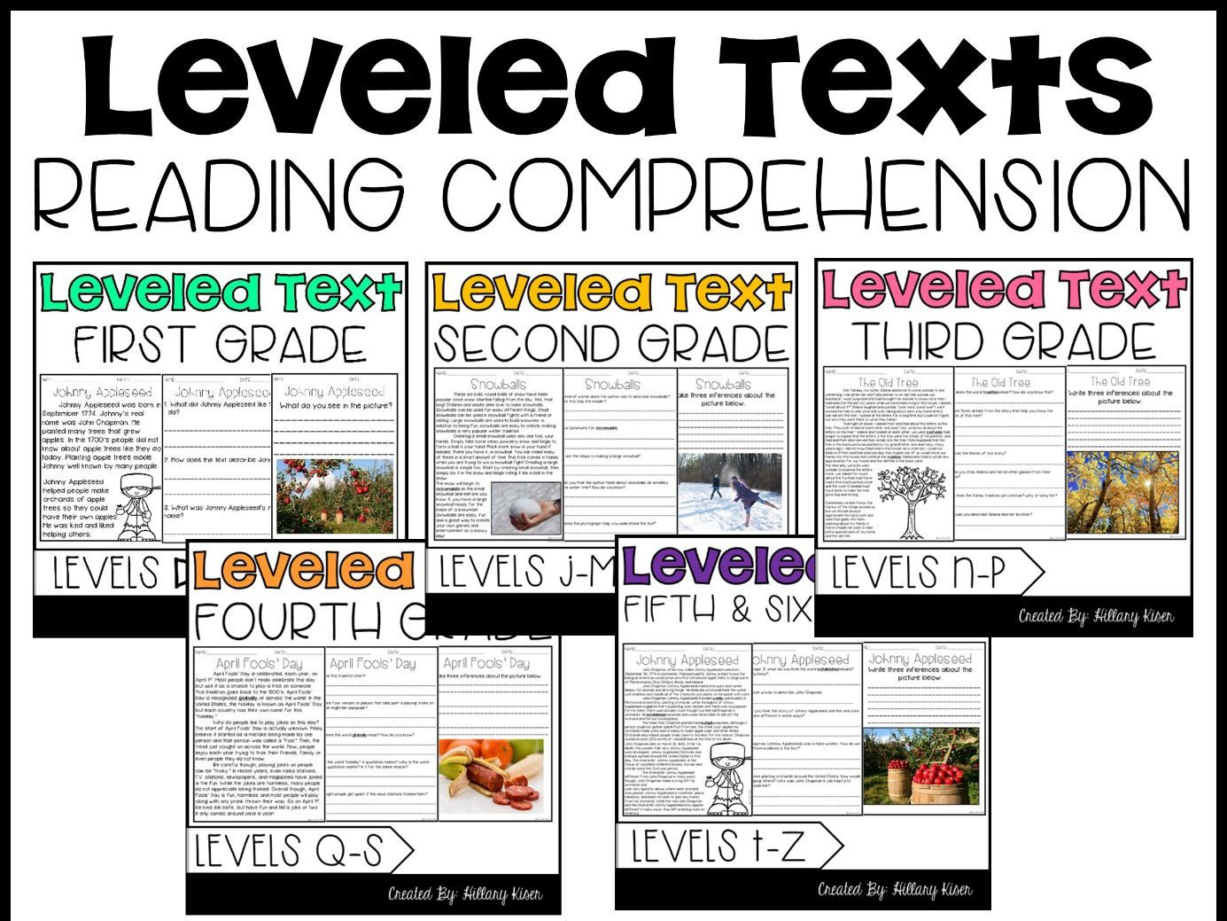 Leveled Text: 1st-6th Grade