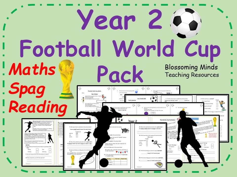 Year 2 Football World Cup Pack