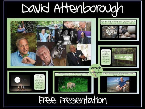 David Attenborough Presentation