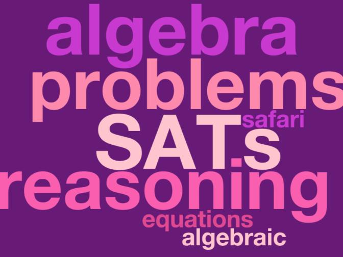 Year 6 SATs Revision Safari - algebra