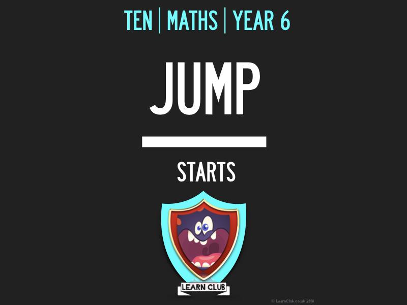 KS2 | 10 MATHS JUMP STARTS BOOK 7