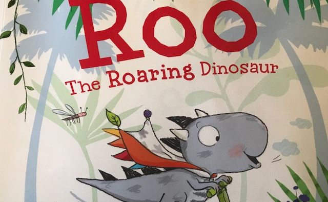 Roo the Roaring dinosaur - comprehension and activities