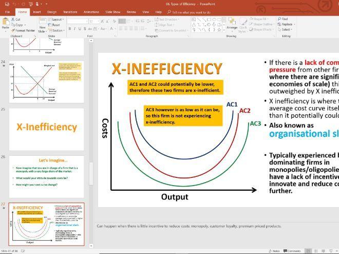 06. Efficiency (Slides, Activities and Notes) - Edexcel A-Level Economics - Theme 3