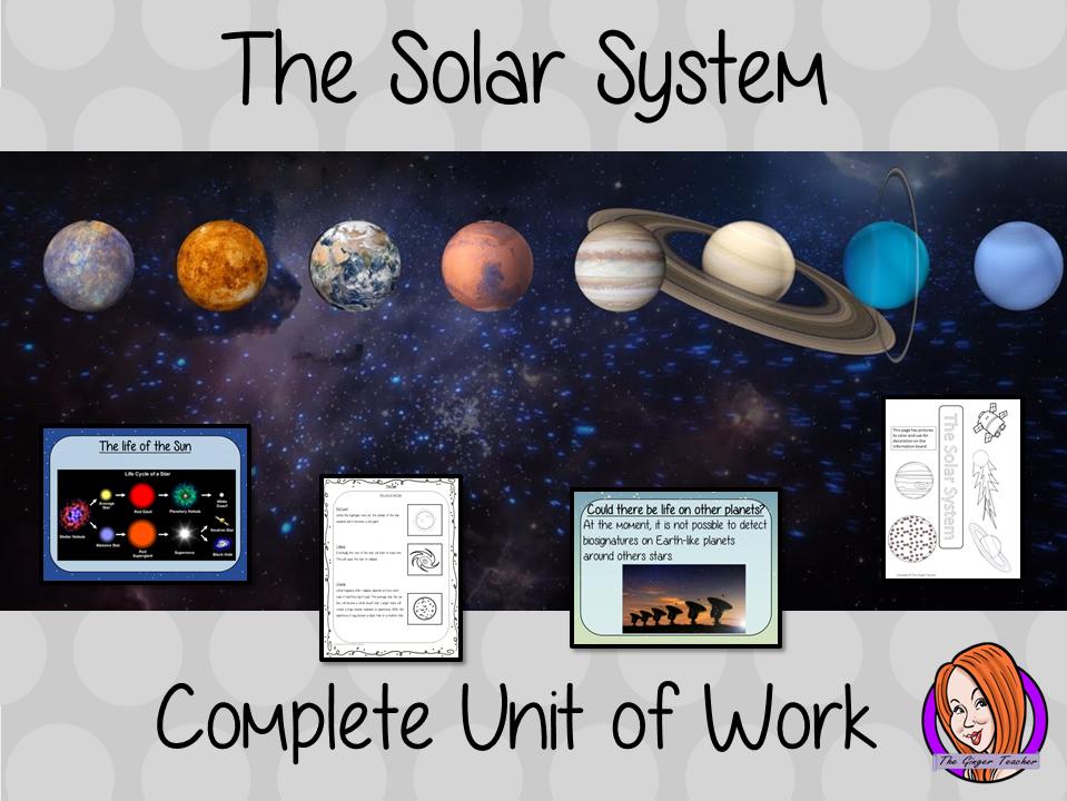 The Solar System Complete Unit Lesson Bundle
