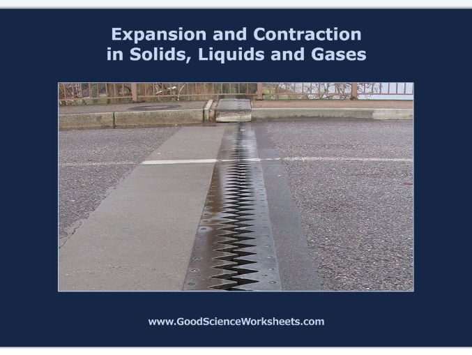 Expansion and Contraction in Solids, Liquids and Gases [Worksheet – Interactive Version]