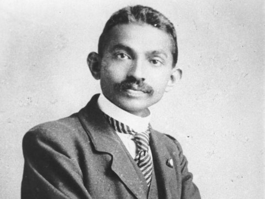 Gandhi's Early Life Presentation