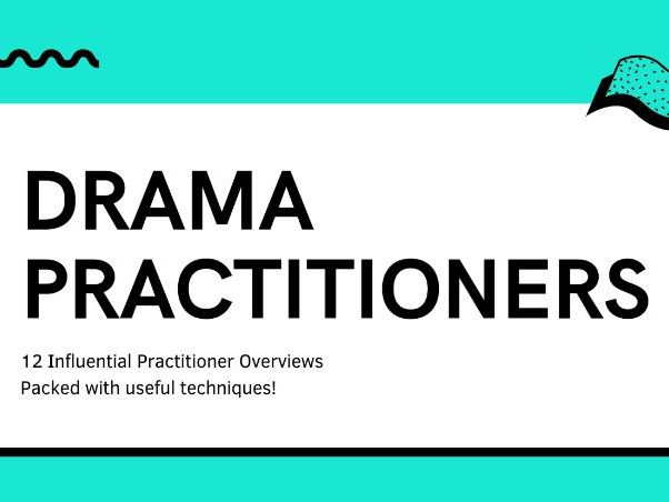 12 Drama Practitioners Pack