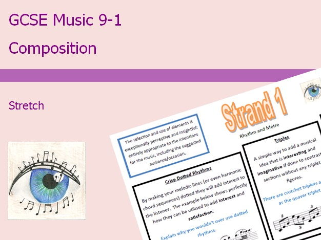 GCSE Music 9-1 Composition: Stretch Differentiation